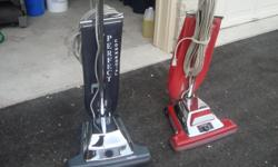 COMMERICAL VACCUMS SANITAIRE UPRIGHT BEATER BAR VACCUM WITH MAGNET AT THE BOTTOM