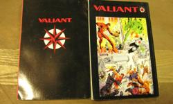 Classic Valiant Comic Books Unity Saga, Harbinger Files, Prophet, Shadowman, and others. New condition. Large selection. Many comic books still in original plastic wrap. Very reasonable prices. Call 716-484-4160.