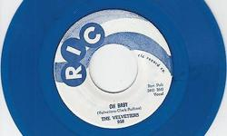 Like~Brand~New Repro That's Hard To Find ! Flip Is 'Feelin Right Saturday Night' On Ric 958 !! See All My Rare/Nice Items For Sale Here & Also At http://www.bonanza.com/thedowopshop