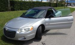 Watch video: http://youtu.be/TuxrYF_yflg Call: 818.917.0221 2004 Chrysler Sebring Convertible, 2.7L engine automatic transmission 2200$ 115.000 miles Ready to Drive Loaded Ice Cold A/C Must See! Call or text if you have any question