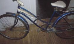 1960 JC Higgins Bicycle everythings original .. make me a offer ..for more info call Mark 317 513-1242