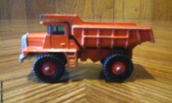 Vintage Matchbox/Lesney Mack Dump Truck in excellent condition. i also have more like this. For more info please call 1-207-337 0443. Thank You.