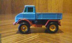 Vintage Matchbox/Lesney Unimog in excellent condition. I also have others like this from the mid to late 60's. For more info please call 1-207-337-0443. Thank You.
