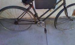 1960 robin hood bike nottingham of england everything is there needs to be restored 50.00