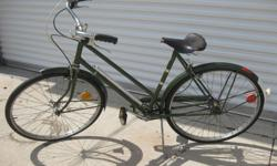 This bike is in great shape, some wear on the leather seat other wise in original condition, and ready to ride.