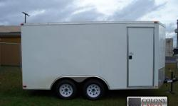 Stock #: CUSTOM ORDER Serial #:order Description :::::: if you want the best looking & best built enclosed trailer on the market today, this is it!!! The screwless exterior & the upgrade to .030 gauge