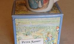 1992 Peter Rabbit by Wedgwood child's cup.