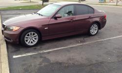 2006 BMW 325i excellent condition. Options are as listed but its a must see. Sunroof, heated seats, CD player, premium sound, very clean, and much more. Car comes with a 3yr extended warranty which alone was $2000. I am selling because I'm moving and I