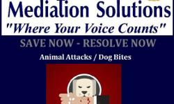 Mediation for Animals! Animal Attacks Animal Damage to Property Animal Bites Animal Rights Animal Protection Mediation can help. Whether you have hired an attorney or you not sure what you would like to do next. Choice Mediation Solutions can assist you.