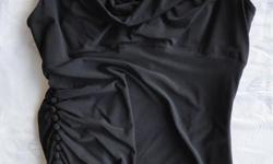 Originally $140 +/- White House/Black Market black dress, polyester. Size 14 Will negotiate.