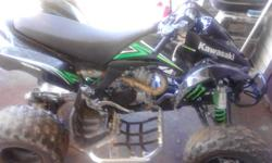 I brought this for my son and I can ride together but its to fast call only if serious.(864)242-5052