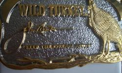 THIS HAS A NICE LOOK TO IT & IF YOU LIKE WILD TURKEY! THEN THIS IS THE BUCKLE FOR YOU! CALL ME CHRIS AT 916-929-6919 THIS LOOKS NEW! IT SAYS , KEEP THE DREAM ALVE! CALL ME CHRIS AT 916-929-6919