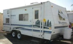 This travel trailer is in very good condition. We are the second owners. It was purchased for $10,000 from a couple who had used it a few times. We sold the truck we used to pull the trailer with so now need to sale the trailer. We have only used it a few