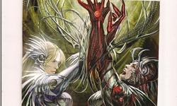 """Witchblade #125 (Top Cow Comics) Cover Poster 6.5""""x10"""" *Cliff's Comics & Collectibles *Comic Books *Action Figures *Posters *Hard Cover & Paperback Books *Location: 656 Center Street, Apt A405, Wallingford, Ct *Cell phone # -- *Link to poster selling on"""