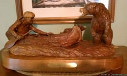 One of a kind carving by Don Lincoln. Beautiful clean Call. --