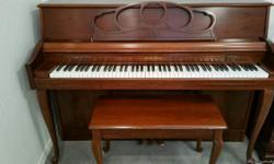 Wurlitzer Upright Piano, good condition. Will provide more info upon request.