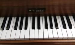 WW Kimball in good condition. Bench included. Have arthritis and cannot play any more.