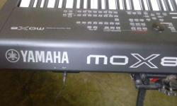 Hello key players > I am selling my YAMAHA MOX8 ,good condition,includes Gator gig bag and Yamaha sustain pedal > Everything works fine,all the components,knobs,pads and keys are like new > No scratches on body > Sales receipt from Guitar Center > Feel