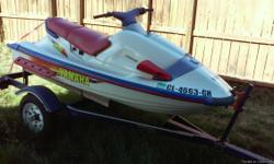 96 YAMAHA WAVERADER 1000CC great condition perfect seat, new battery, custom intake FAST & AGILE! with Norshel trailer Only serious inquiries please! $3000 obo Call or text me at 720-299-1709 if no answer leave a message and ill return your