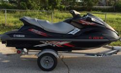fx sho 1800 supercharged 3 seater fast great condition 170 hours black / red 2008