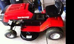 Yard Machine Riding Lawn Mower in Great Condition. I have putNEW Cutting Blades on it and a New Battery,NEW Belt, New Spark Plug, NEW Fuel Filter and Fuel Lines!!!! Ride's and Cut's Great!!! Also I can Deliver to your home if within 30 mile's of my