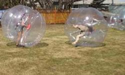 ZORB BALL, HUMAN HAMSTER BALL, WATER WALKING BALL, BUMPER BALL...100% TPU 1MM www.ydbzballs.com 818-800-9293 the best prices in USA!!